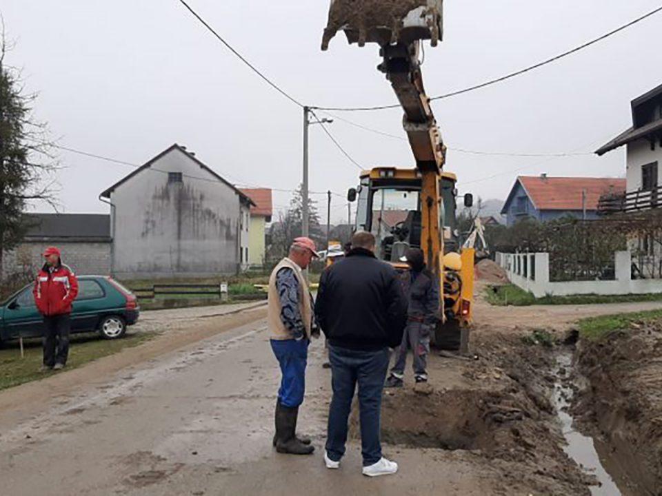 Izgradnja dijela sustava oborinske odvodnje u naselju Rakov Potok