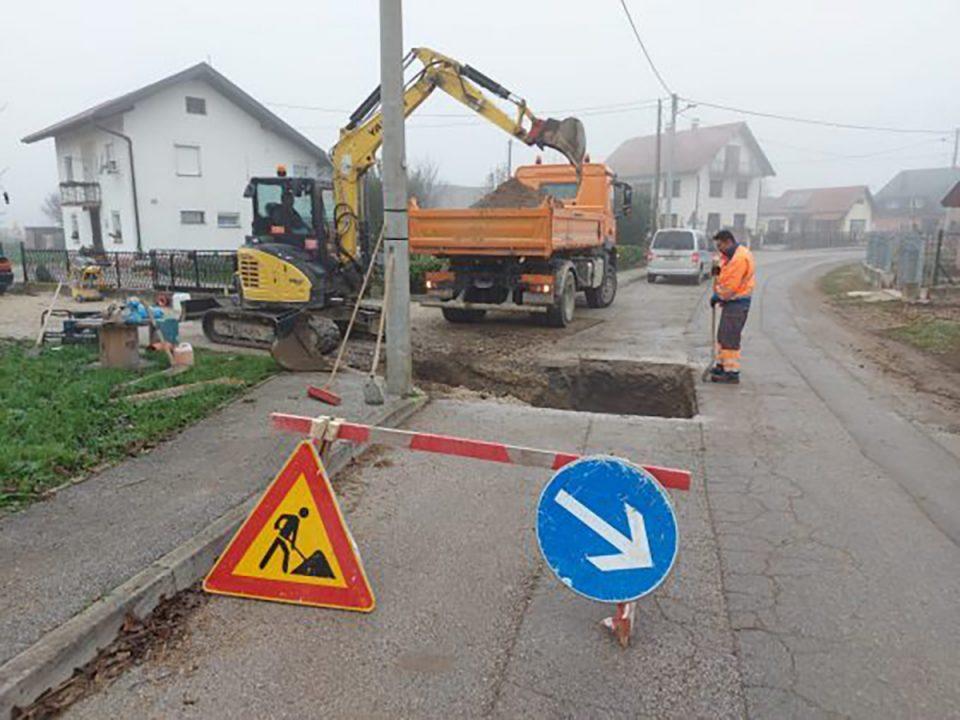 Sanacija dijela javne odvodnje u Otoku Samoborskom