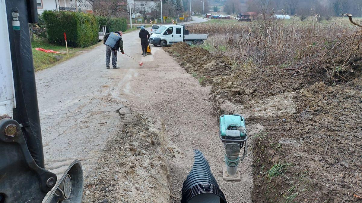 Sanacija oborinske odvodnje u Podgrađu Podokićkom
