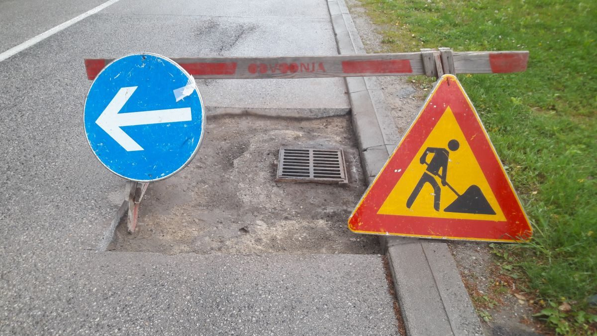 Oznaka radova na cesti